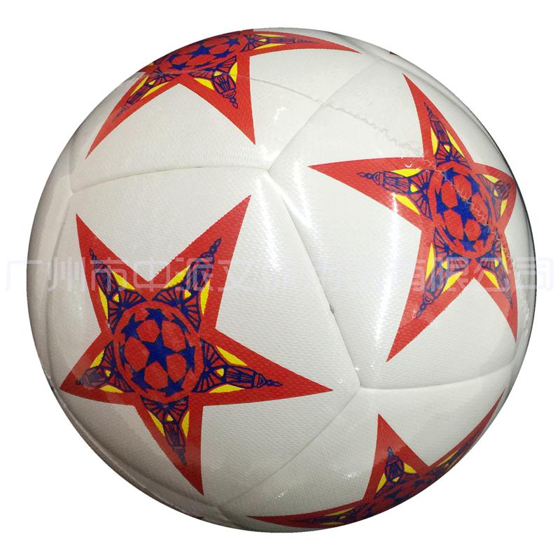 KDR-4005 卡迪尔4#PU机贴无缝花色足球(2色) KADIER 4# PU (Machine-Pieced,Seamless Connection)Football(Two color)