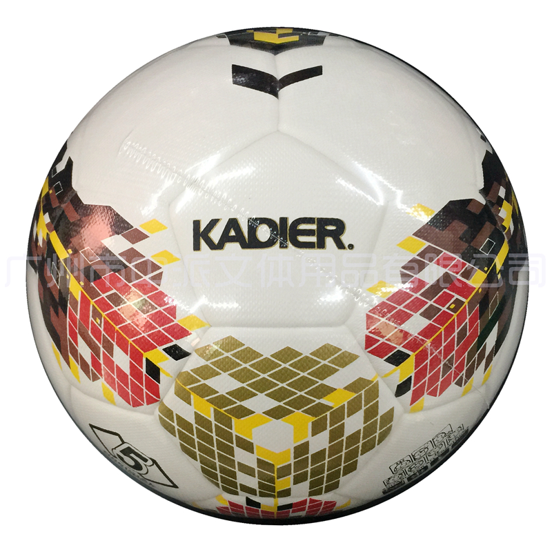 KDR-5018 卡迪尔高档手贴5# PU足球  KADIER 5# PU (Hand-Pieced)Football